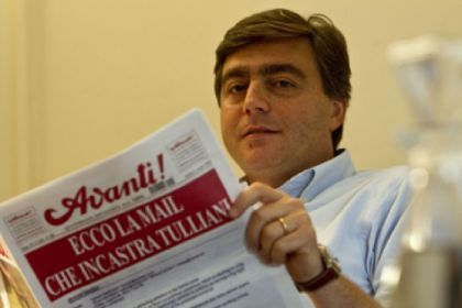Valter Lavitola, ex direttore de L'avanti.