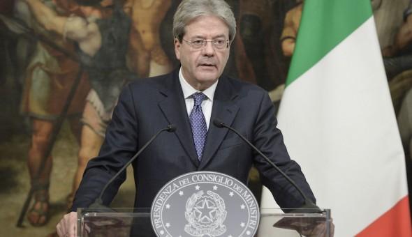 DICHIARAZIONE DEL PRESIDENTE DEL CONSIGLIO SULLA CATTURA DELL' ATTENTATORE DI BERLINO